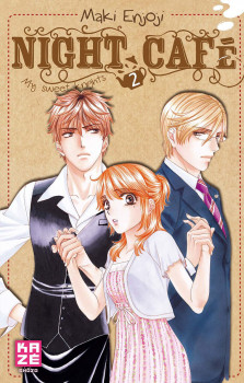 Night Café - My Sweet Knights Tome 2 (+ dessous de tasse)