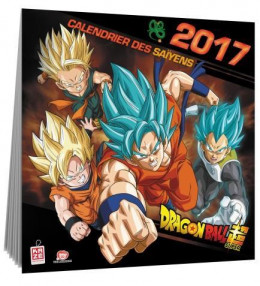 Dragon Ball - Calendrier 2017