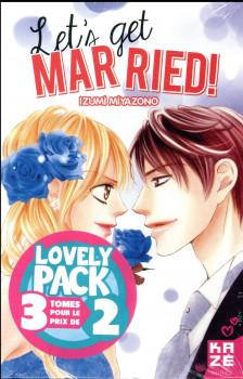 Let's get married ! - coffret tomes 1 à 3