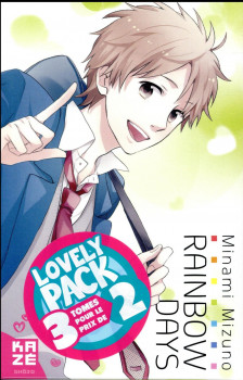 Rainbow days - lovely pack tomes 1 à 3