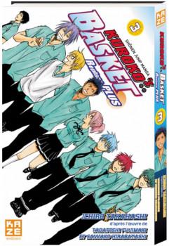 Kuroko's basket - replace plus tome 3