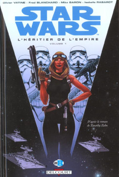 star wars tome 7 - l'héritier de l'empire i