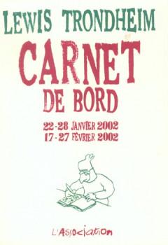 carnet de bord tome 2 (22-28 janvier 2002)