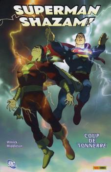 superman ; shazam ; coup de tonnerre