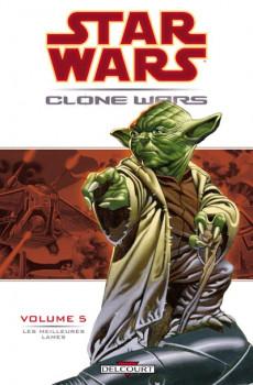 star wars - clone wars tome 5 - les meilleurs lames