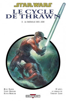 star wars - le cycle de thrawn tome 2 - la bataille des jedi
