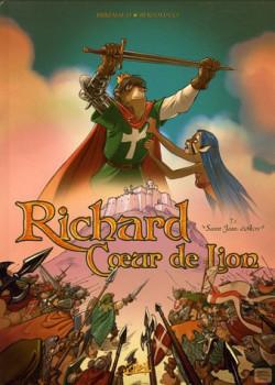 richard coeur de lion tome 1 - saint jean d'acre