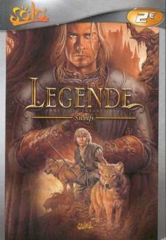 légende tome 1 - l'enfant loup (poche)