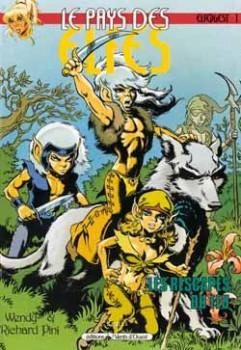 le pays des elfes tome 1 - les rescapés du feu