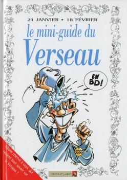 les mini-guides en bd tome 11 - le mini-guide astro du verseau en BD