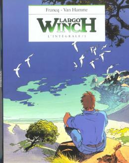 largo winch - l'intégrale (N&B) tome 1