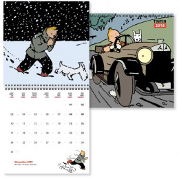 Tintin - Calendrier 2018