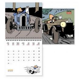 Tintin - Petit calendrier 2018