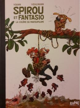 Spirou et Fantasio - tirage de tête tome 55 - La colère du Marsupilami