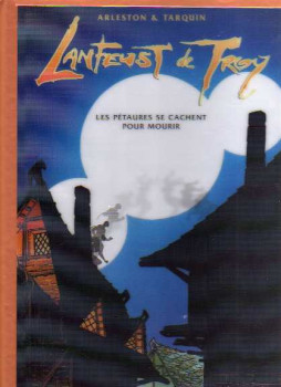 Lanfeust de troy - tirage de luxe tome 7 (version bronze)