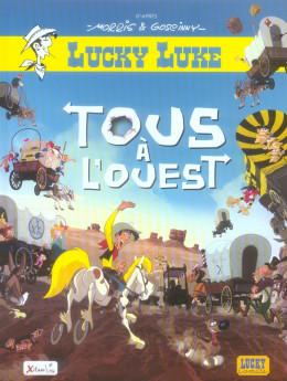 lucky luke ; tous à l'ouest