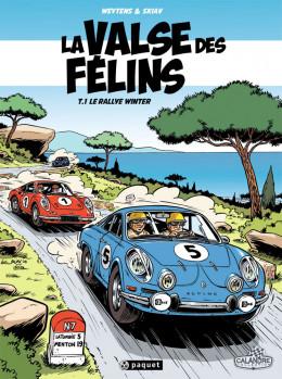 la valse des félins tome 1 - Le Rallye Winter