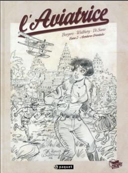 L'aviatrice tome 2 - crayonnés