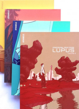 Lupus Pack (4 tomes + ex-libris)