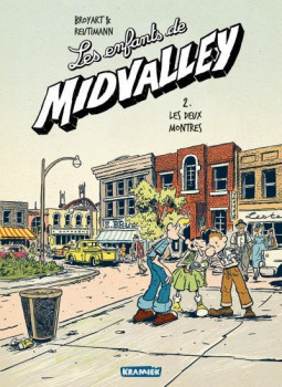 Les enfants de Midvalley tome 2 - les deux montres