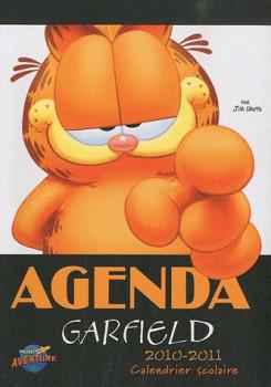 agenda scolaire garfield 2010-2011