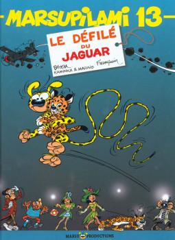 marsupilami tome 13 - Le Défilé du jaguar