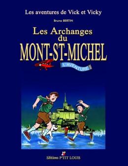 les aventures de vick et vicky - coffret - les archanges du mont saint-michel