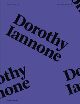 Pleased to meet you - Dorothy Iannone