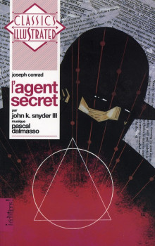 l'agent secret ; livre + cd