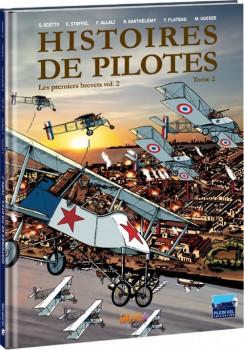 histoires de pilotes tome 2 - les premiers brevets tome 2
