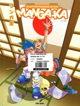 Chronique d'un manga-ka tomes 1 et 3