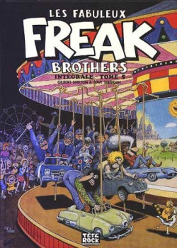 les fabuleux Freak brothers - intégrale tome 5