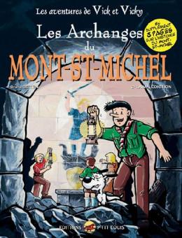 les aventures de vick et vicky tome 6 - les archanges du mont-st-michel