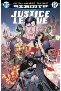 Justice league rebirth tome 2