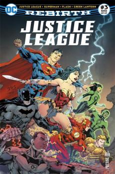 Justice league rebirth tome 3