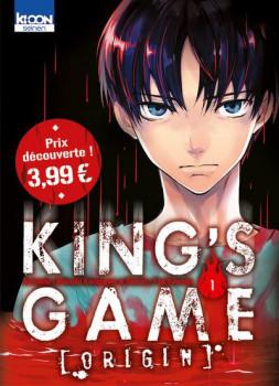 King's game origin tome 1 (prix découverte)