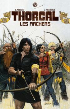 Tirage de luxe Thorgal - Les archers