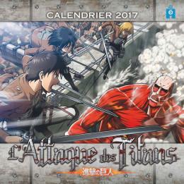 L'attaque des titans - calendrier 2017
