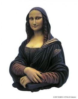 figurine MONA-LISA couleur