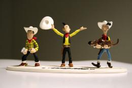 Figurine L'EVOLUTION DE LUCKY LUKE