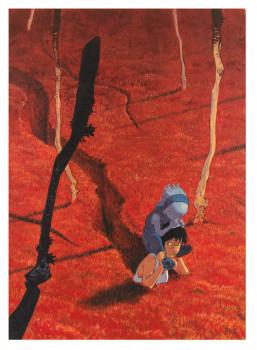 Couverture Le Grand Mort tome 1 - 50*70 cm