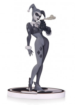 Figurine Harley Quinn DC Comics Batman Black & White 2nd édition