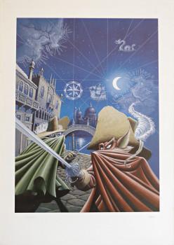 Affiche De cape et de crocs couverture tome 1