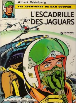 Dan Cooper (Les aventures de) tome 7 - L'escadrille des jaguars (éd. 1974)
