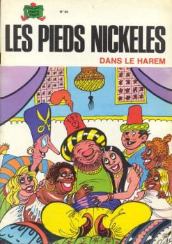 Pieds Nickelés (Les) - La collection (Hachette) tome 86 - Les Pieds Nickelés dans le harem (éd. 1975)