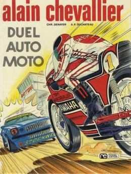 Alain Chevallier tome 7 - Duel Auto Moto (éd. 1977)