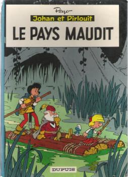 Johan et Pirlouit tome 12 - Le pays maudit (éd. 1966)