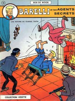 Barelli tome 2 - Barelli et les agents secrets (éd. 1973)