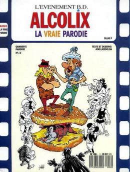 Astérix (Autres) tome 4 - Alcolix, la vraie Parodie (éd. 1989)