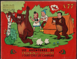 Sylvain et Sylvette (01-série : albums Fleurette) tome 77 - L'ours chez les campeurs (éd. 1966)